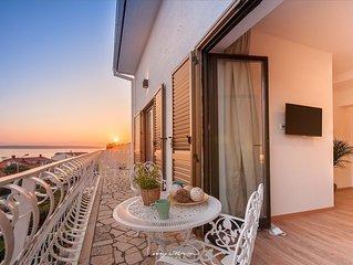 Lovely villa near the beach in Crikvenica