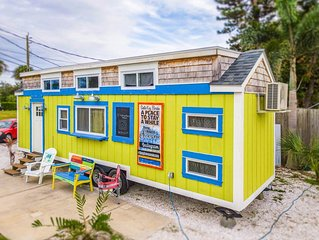 Tiny House Margarita - A bright and cheery choice that sleeps 6