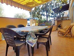 Appartamento Azzurro a 600mt dalla spiaggia di Calaliberotto