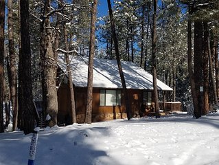 Renovated 5 Star Rated Cozy Cabin in Pine, AZ - Escape to Palms to Pines