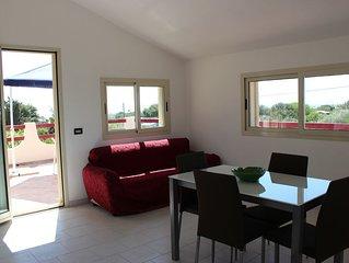 Appartamento autonomo in villetta vicino spiaggia Montalbano