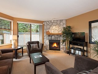 Whistler two bed Townhome steps to lifts shuttle on 1st fairway of best golf!