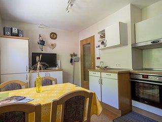 Ferienwohnung Hirschblick, 41qm. 1 Schlafzimmer, max. 2 Personen