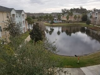 Centrally located, comfortable condo w/water views in a great neighborhood