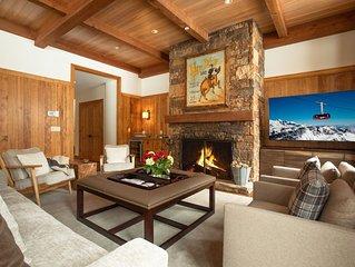 RMR: Ski-in/out Luxury 4 BR + Bonus rm in Granite Ridge + air conditioning