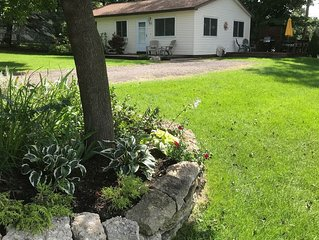 Charming Fully Furnished Cottage W/ Shared Frontage on Silver Lake Traverse City