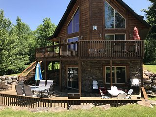 Beautiful Custom Designed Log Home- Perfect Getaway For Your Family
