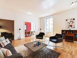 Borgogna - Trois Chambres Appartement, Couchages 8