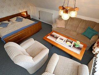 Ferienwohnung 1 mit 70qm, 2 Wohn-/Schlafräume für max. 5 Personen