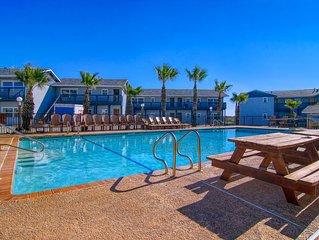 Gulf Views from this Sea Isle Village condo!