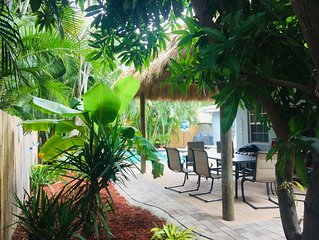 Sunny Fort Lauderdale home /Tiki Hut /HEATED pool