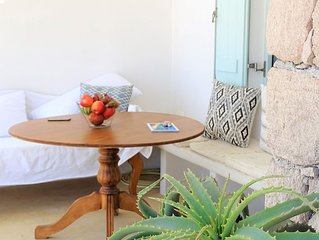 'Sea Blue'traditionally stylish Cycladic large terraces Sea View House 3