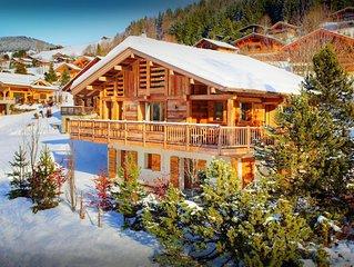 Chalet design 4 étoiles proche piste & village, sauna - OVO Network
