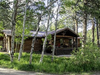 Near Rocky Mt National Park and Estes Park.   Pet friendly.