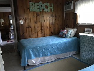 Ocean Block Cozy Beach Cottage   -Steps from the beach