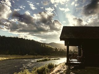 GOD'S BEAUTY ABOUNDS! FISH THE MADISON RIVER B4 SPRING RUNOFF! GO TO YELLOWSTONE