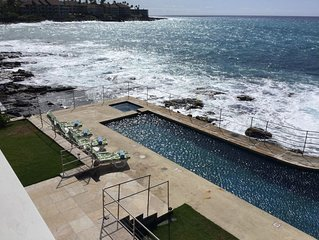 Oceanfront Kona PoolSpa Private Home Thanksgiving Christmas New Years Walk 2Town