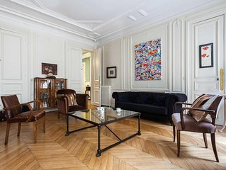 Rue de Miromesnil - luxury 4 bedrooms serviced apartment - Travel Keys