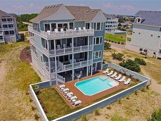 Must See Oceanfront Estate-Elevator, Custom Pool, Theater+Game Rms, Dog-Friendly