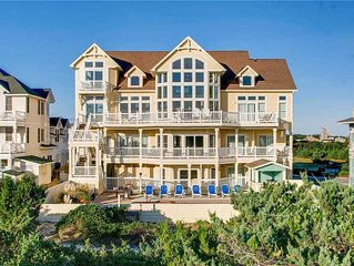 Gorgeous Oceanfront Estate w/ Elevator, Pool, Hot Tub Theater Room, Dog-Friendly