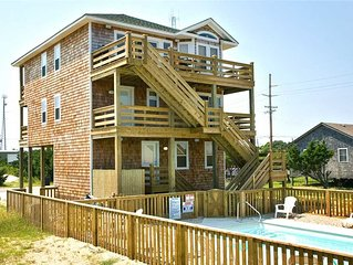 Enjoy Fun Family Thrills! Oceanview, Waves- Pool, Hot Tub, Game Rm, Dog-Friendly