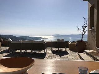 2 villas ensemble pour une vue exceptionnelle avec piscine privée