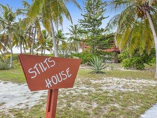 Cozy Stilt's House with Huge Yard