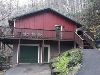 Secluded Cabin in Gatlinburg! Minutes from downtown Gatlinburg!
