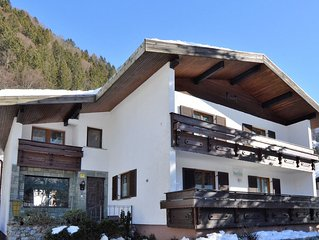 A detached house in the valley of Montafon with superb views of the mountains