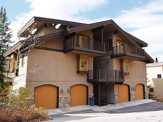 Alpine Creek #4 - Solitude Resort condo in secluded building near Village