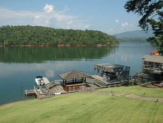 Beautiful Water Front House at Lake James North Carolina