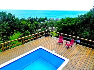Hillside Paradise Fly Fishing Flats Private 4 Bedroom  w/ Pool and Ocean View