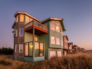 Seaside Splendor #133 - large Pacific City home across the street from beach wit
