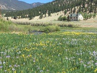 Lazy River Ranch - A Relaxing, Mountain, Fishing Retreat