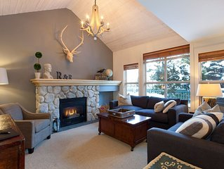 Whistler Ideal Accommodation:Deluxe 2 Bedroom, Private Hot Tub - Ski In Walk Out