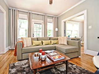Family Friendly Apartment in Charlotte's Most Walkable Neighborhood