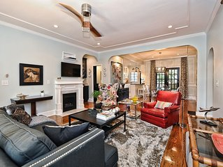 Exquisite Luxury in the Heart of Myers Park-1 mile to Uptown Charlotte