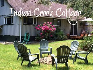 Peaceful, Clean and Tidy, Indian Creek Cottage is just 8 miles from Port Angeles