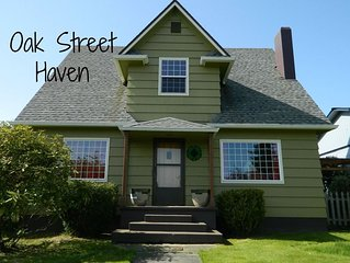 Oak Street Haven, close to Olympic National Park, Family Friendly, clean and tid