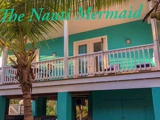 Brand New Beach House THE NAUTI MERMAID- Steps from beach - walk to everything!