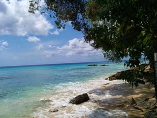 Beautiful Beachfront 2 Bdr / 2 Bath Home On The Exquisite West Coast Of Barbados