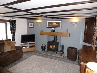 Treneved Lodge 5 star Detached Cottage with Sea Views
