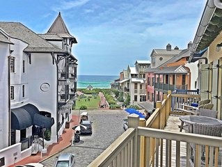 Gulf Views - Penthouse Condo in Rosemary - 2 Bikes Incl -`Seas the Stars`