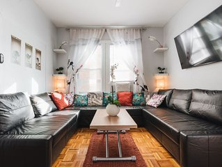NYC HUB XL * 900ft from subway; 30 min to Midtown via express F train