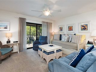 Tropical Garden View 2 bedroom, 2 bath at Sanibel Moorings Resort #1132