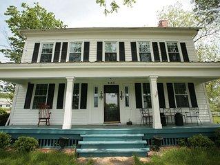 Gracious Farmhouse on the Seneca Lake Wine Trail