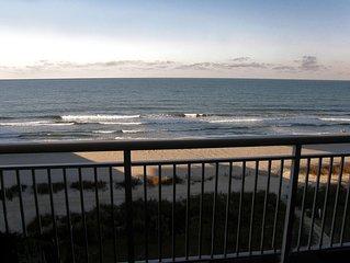 Beautiful CLEAN 5 BR/4B Oceanfront Luxury Condo, Huge Balcony, Media Room 5 STAR