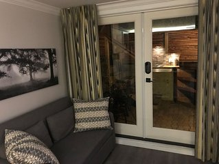 New Basement Private Suite - Fully Furnished,  1 BEDROOM & Futon