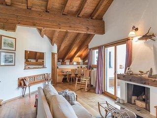 Ferienwohnung Zuoz fur 6 Personen mit 3 Schlafzimmern - Ferienhaus