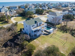 #419: OCEANSIDE Home in Corolla w/HeatedPool, HotTub & RecRm